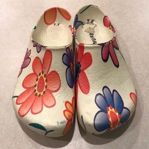 Birkenstock Rubber Clogs Floral